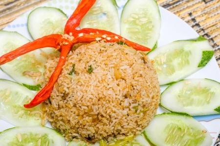 fried rice - malaysian food photo