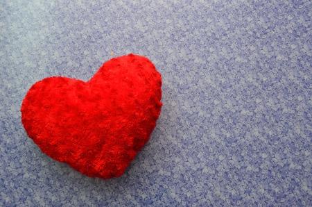 heart shape pillow Stock Photo - 23485579