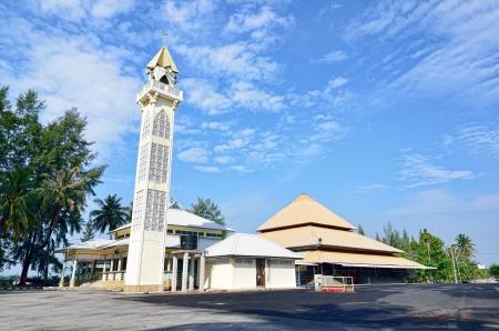 pahang: Tanjung Api Mosque at Kuantan, Pahang