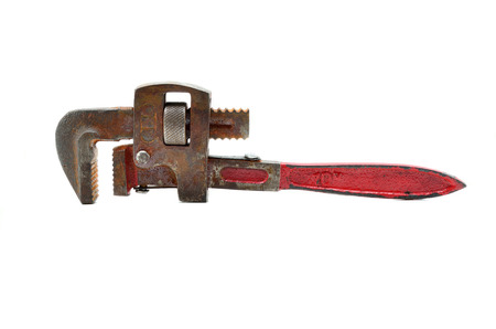 outils plomberie: Outils de plomberie mis avec une cl�