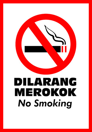 killing cancer: No Smoking Sign Stock Photo