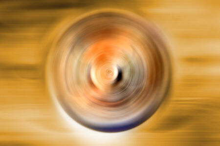 emanate: Abstract background of spin motion blur Stock Photo