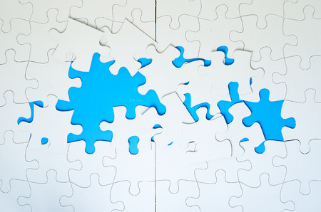 incomplete: Incomplete Jigsaw Puzzles