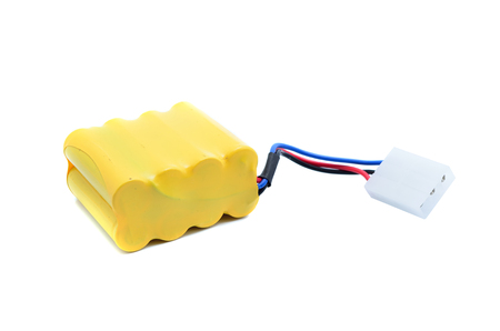 abbreviated: Lithium-ion polymer rechargeable battery (abbreviated as LiPo, LIP, Li-poly) with balancing and main power plugs. LiPo batteries are used in portable electronics, drones and radio controlled models.