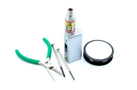 atomizer: Rebuildable Dripping Vaping Atomizer tools, close up