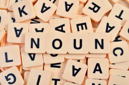 noun: Noun part of speech