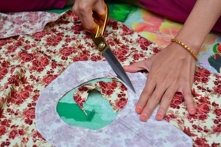 dressmaker: Dressmaker at work