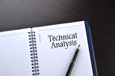 technical analysis: Notebook with fountain pen written word Technical Analysis