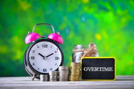 Concept de richesse financière - OVERTIME