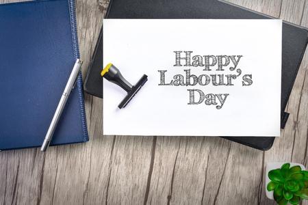 Happy Labours Day Reklamní fotografie