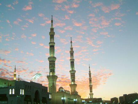 Medina Mosque 3 Minars
