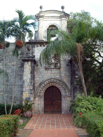 マイアミの古い教会 写真素材