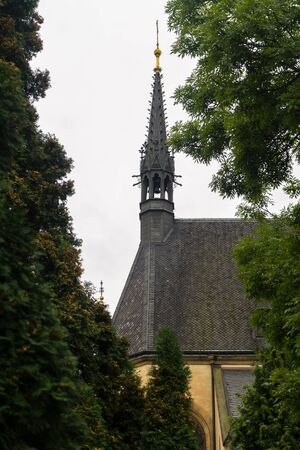 visegrad: Saint Peter and Paul Cathedral  in the district of Vysehrad