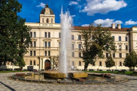 molino de agua: molino de agua cerca del palacio de justicia en Praga