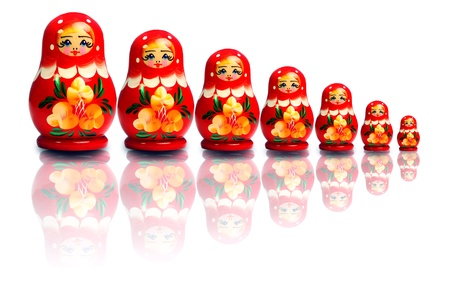 Gallery of Russian nested dolls