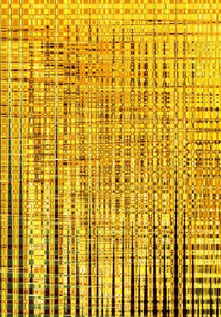Abstract fabric background with golden texture