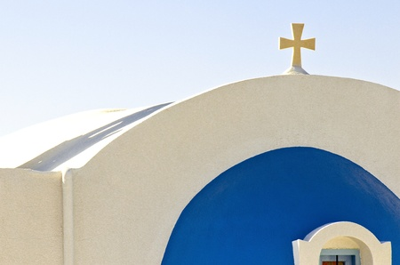 Santorini's church photo