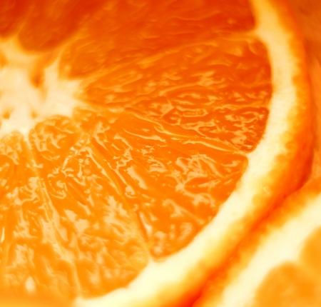 orange slice: Gesneden sinaasappel Stockfoto