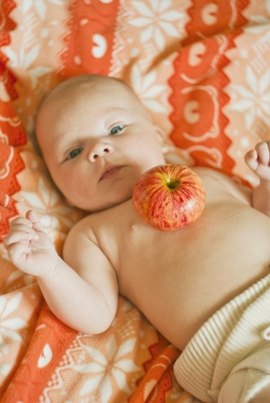 Autumns baby photo