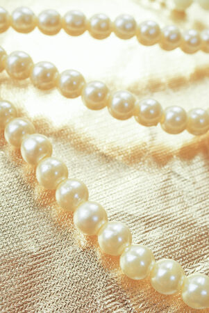 Pearls background
