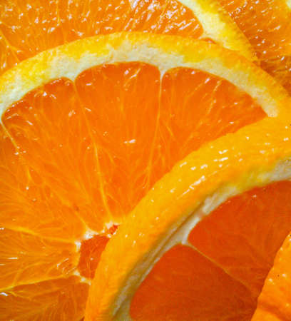 closeup: Orange closeup