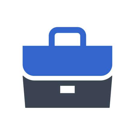 Briefcase, Bag icon, vector image