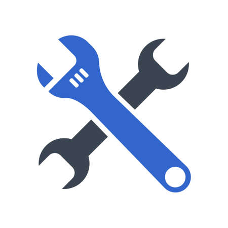 Technical support icon, vector image Ilustração