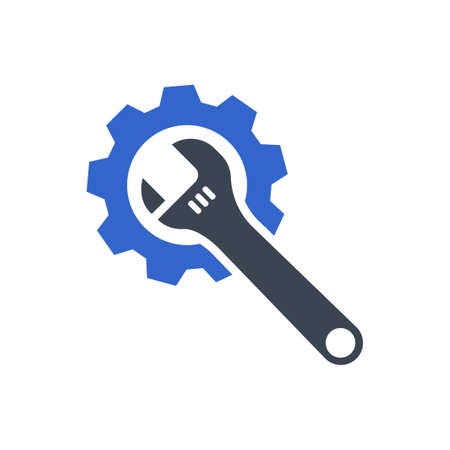 Technical Support Icon, vector image