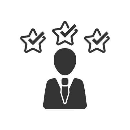 Premium user icon, vector image