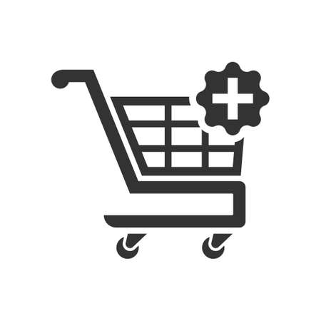 Add To Shopping Cart Icon, vector image