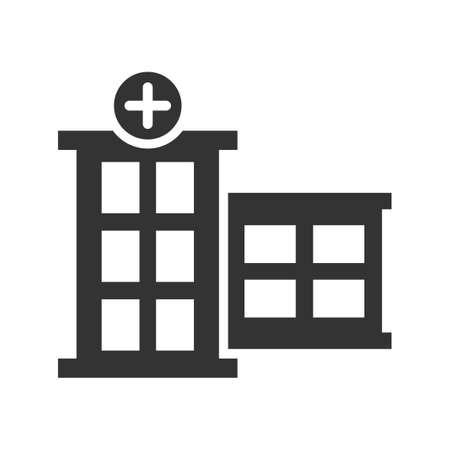 Hospital Icon Ilustracje wektorowe