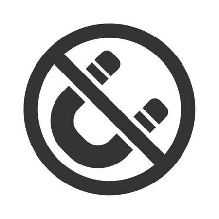Magnet restriction icon