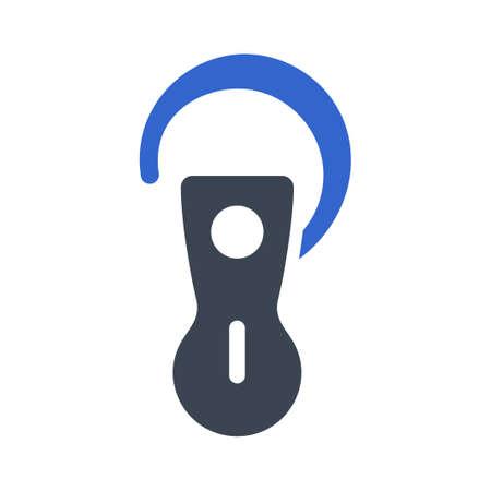 wireless earphone icon