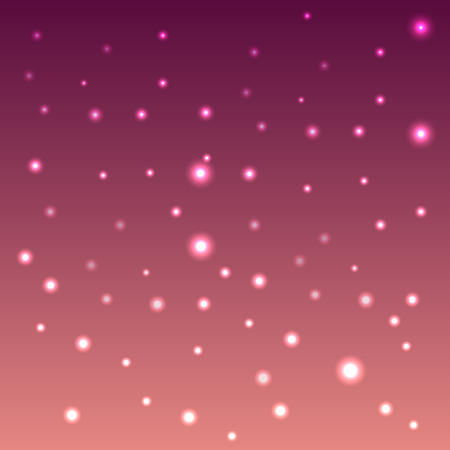 Bokeh drop effect pink background design and illustration. vector wallpaper design. Illusztráció