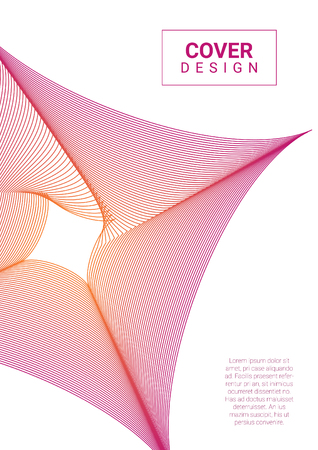 Abstract vector design and illustration. cover and template design .