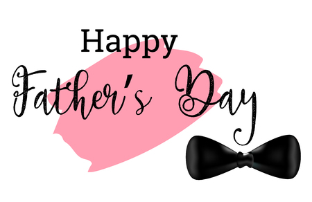 Happy fathers day vector design.