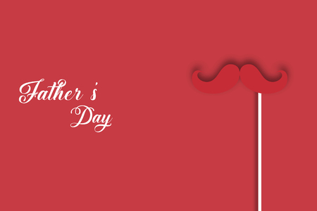 Fathers day banner design. vector