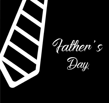Fathers day wishing vector template design and illustration. Illustration