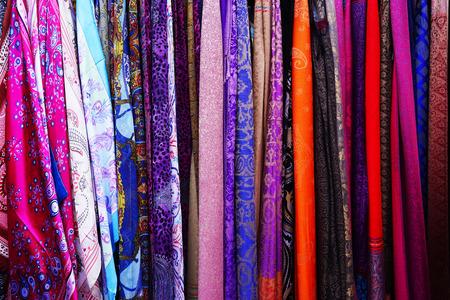 colorful Oriental Turkish silk scarves handmade