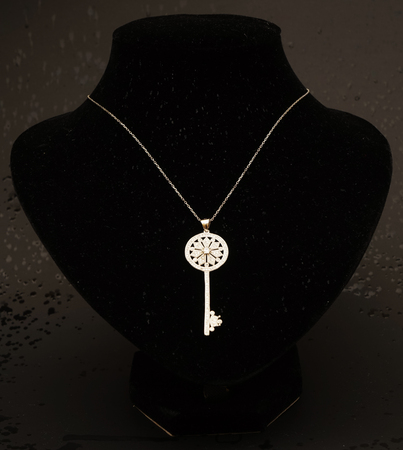 beautiful antique Oriental Turkish gold jewelry women's chain