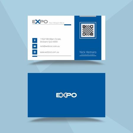 Professionelle Visitenkarten-Designvorlage