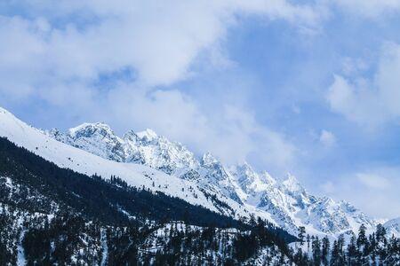 Malam Jabba and Kalam Swat Scenery Imagens