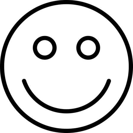 smiley emoji icon line icons