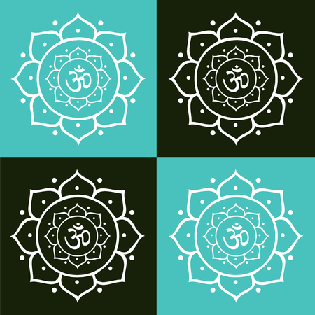 Vector om symbol and lotus flower mandala illustration royalty free vector om symbol and lotus flower mandala illustration royalty free cliparts vectors and stock illustration image 74339307 mightylinksfo