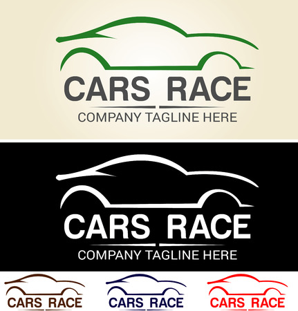 Various graphic cars, easy customized, great for car logo base, racing team and automotive related. Provide in AI, EPS,
