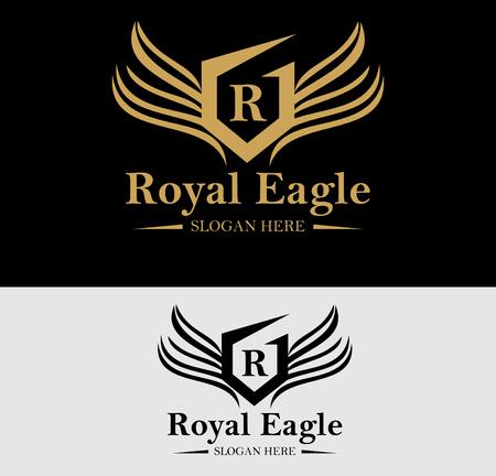 Premium Royal Crest Logo Design. Geschikt voor Spa, beauty centrum, Vastgoed, Hotel, Resort, House logo
