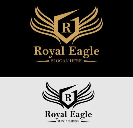 Premium Royal Crest Logo Design. Suitable for Spa, beauty Center, Real Estate, Hotel, Resort, House logo
