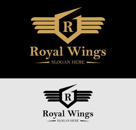 Premium Royal Crest Design. Geschikt voor Spa, beauty centrum, Vastgoed, Hotel, Resort, House