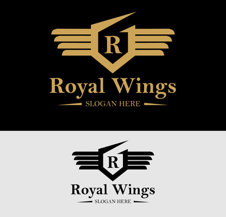 royal house: Premium Royal Crest  Design. Suitable for Spa, beauty Center, Real Estate, Hotel, Resort, House