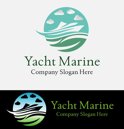 Nautical icons Set - Isolated On White Background
